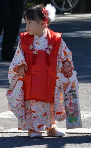 Girl at Kitain Temple Kawagoe by Sarah Straus