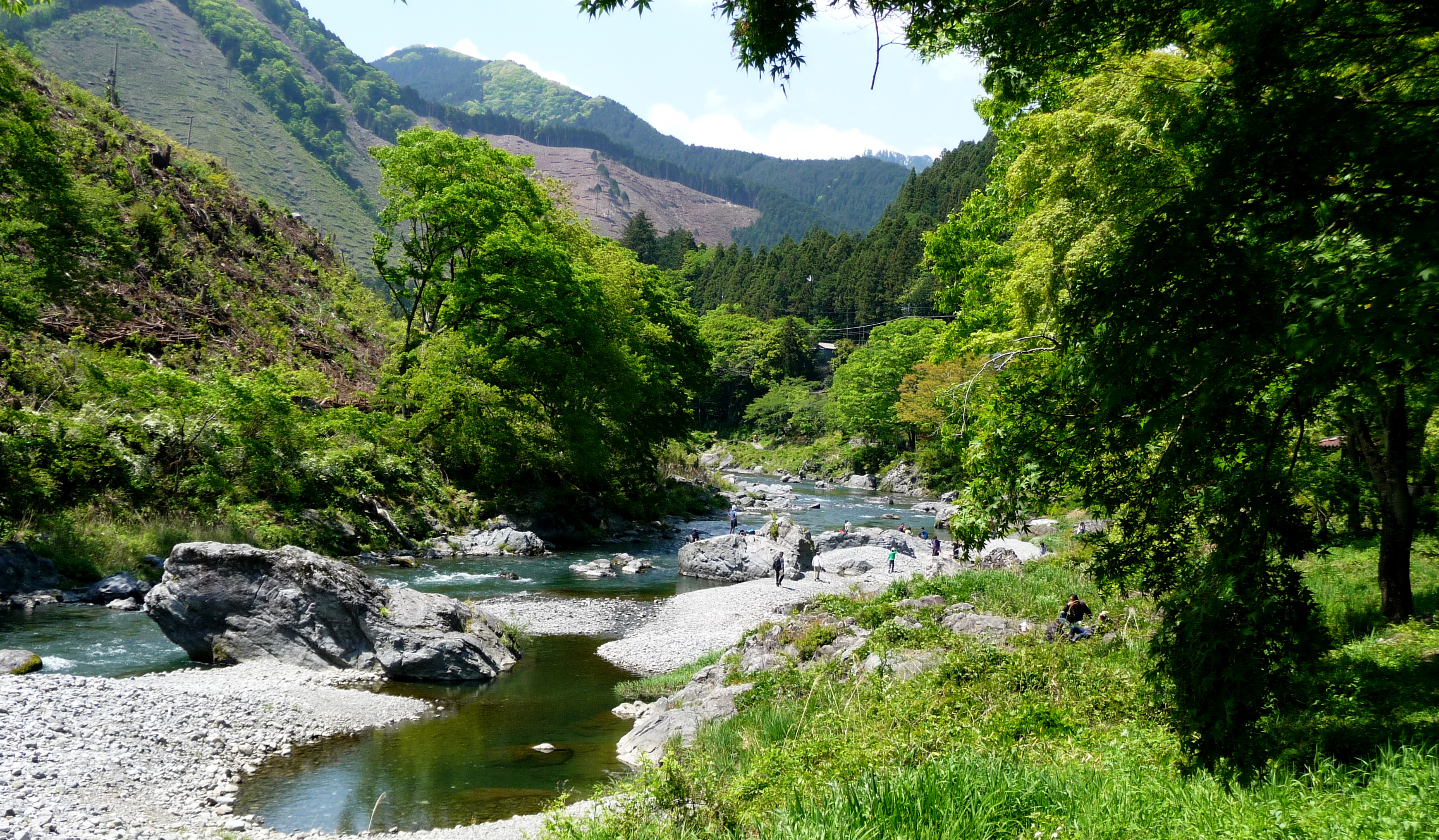 Ome River Walk, Near Mt. Mitake