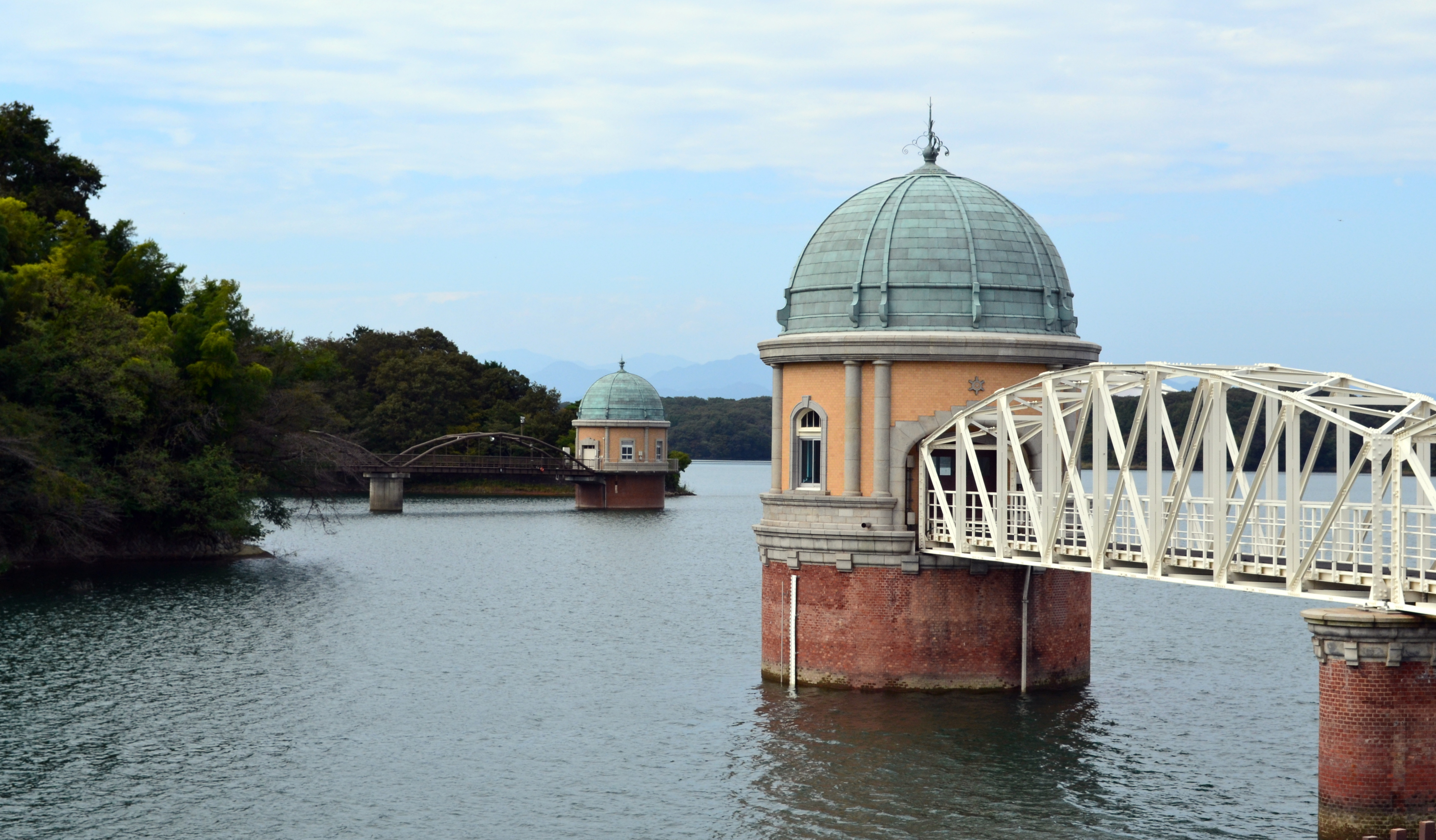 Tama Lake trail to Sayama Dam