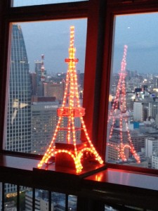 mini tokyo tower by kelly odonnell