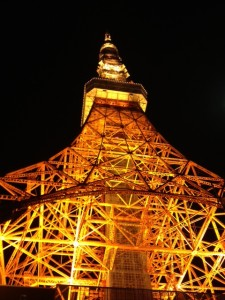 tokyo tower by kelly odonnell