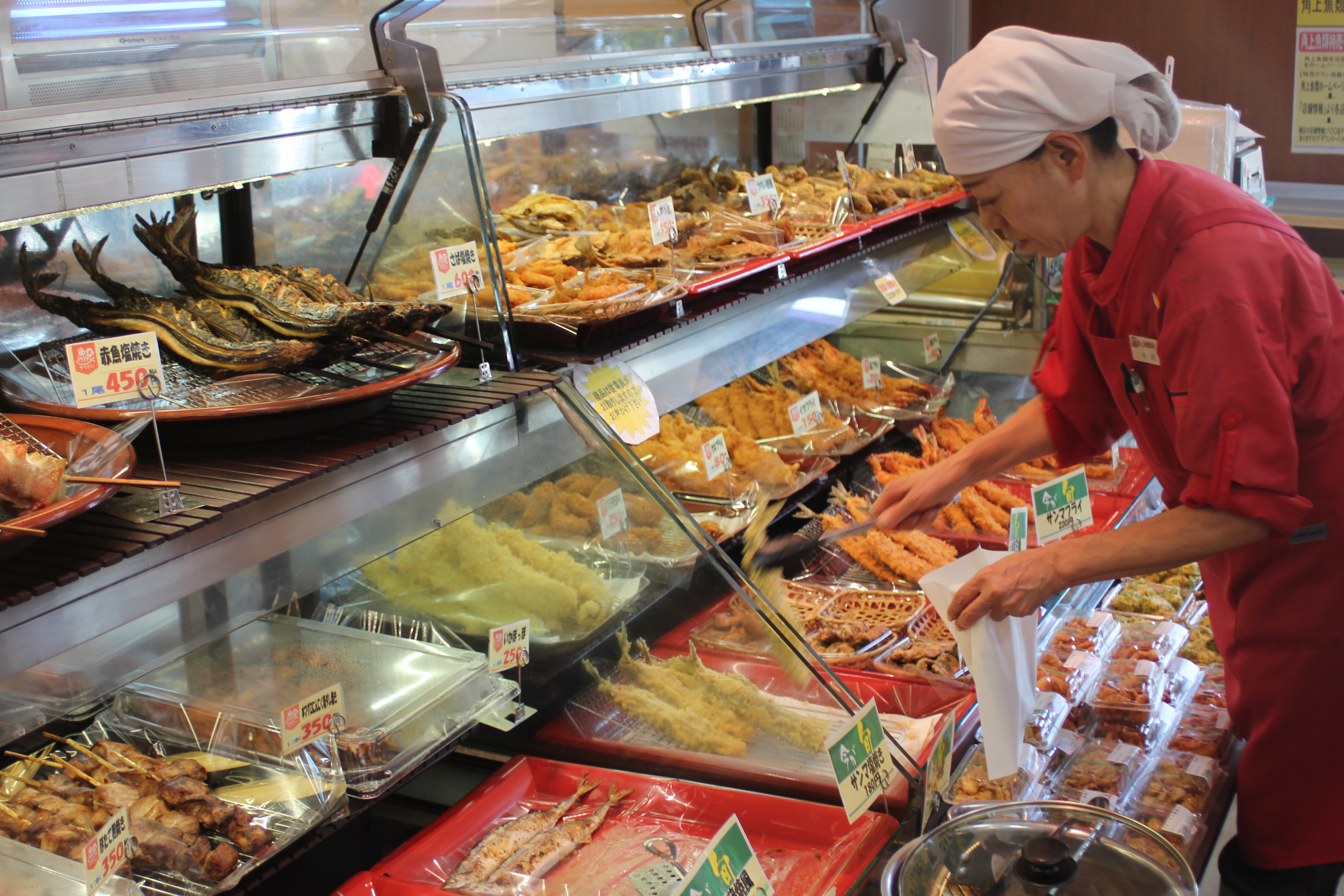Produce markets for The fish shop