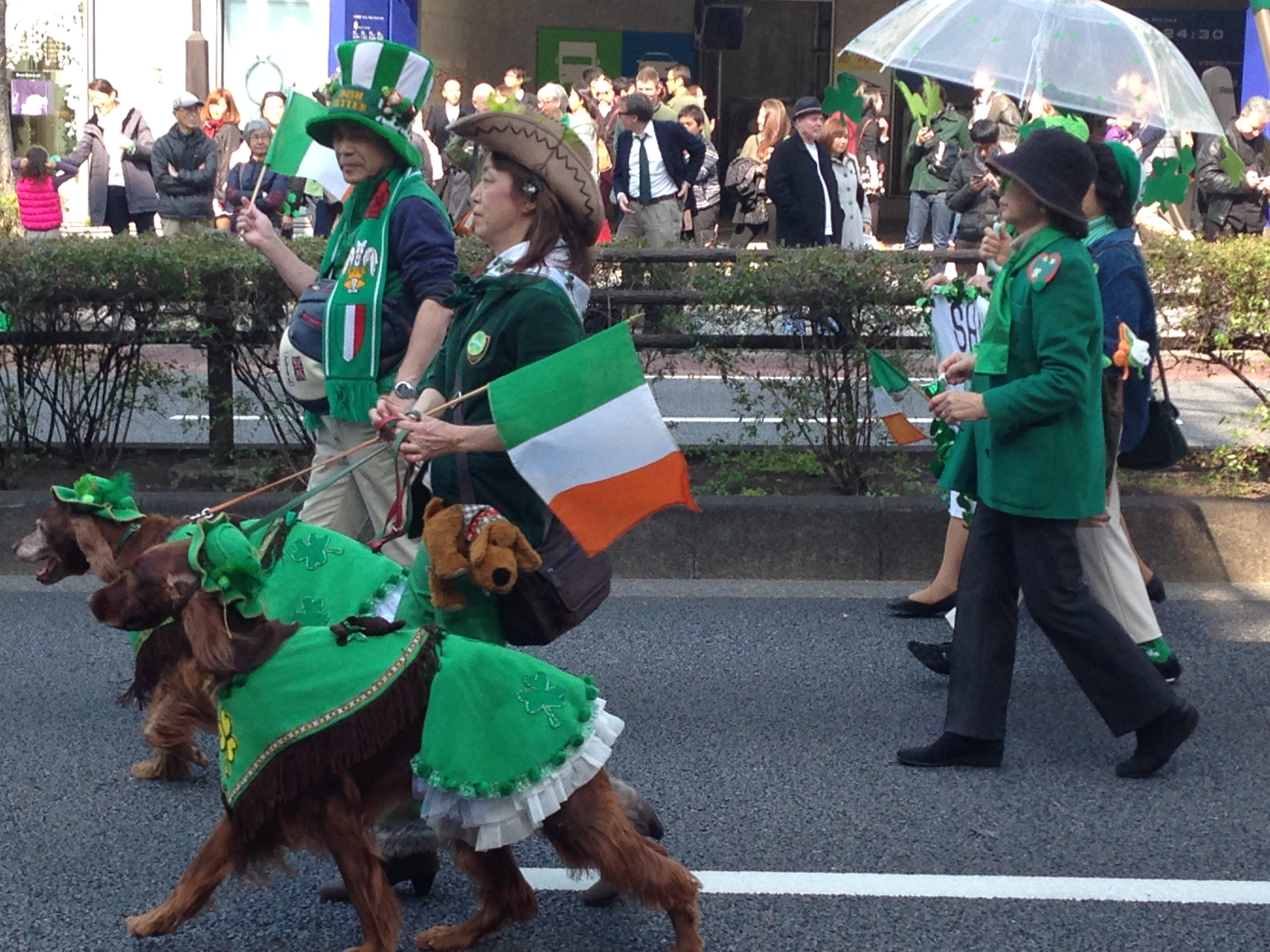 St. Patrick's Day Parade- Tokyo