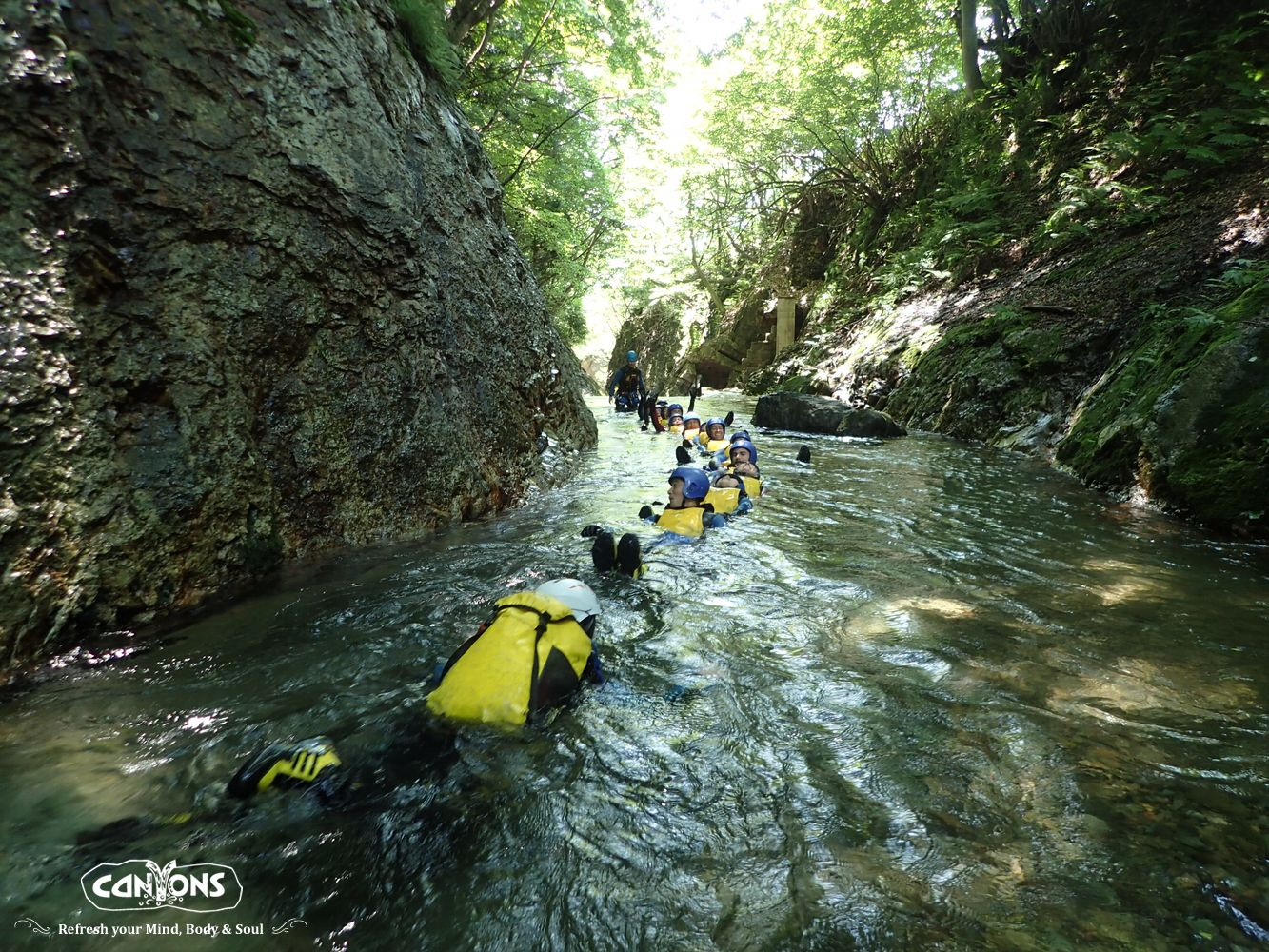 Canyons – Canyoning at Minakami